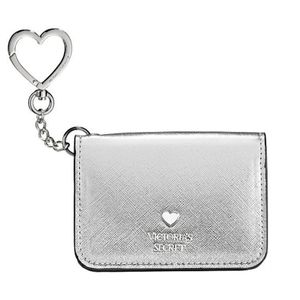 New Victoria's Secret Metallic Foldable card case